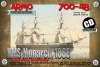 Armo 700-48 1/700 HMS Monarch 1868