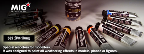 502_Abteilung Modelling Oil Colors