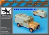 Black Dog T35086 1/35 Landrover Snatch Conversion ...