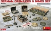 MiniArt 35258 1/35 German Grenades & Mines Set
