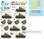 Star Decals 35-C1105 1/35 US 1st Armoured ...