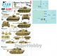 Star Decals 72-A1019 1/72 Western Front Tigers #1.